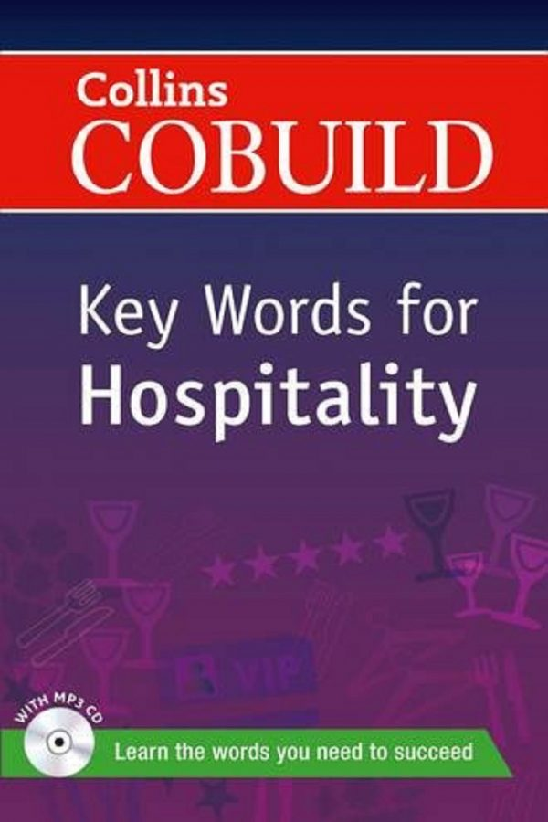 Collins Cobuild Key Words For Hospitality + Cd (PB) BooksInn Shop Pakistan