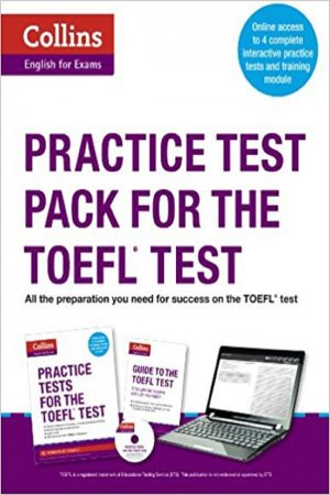 Collins English For Exams Practice Test Pack For The Toefl Test + Cd (PB) BooksInn Shop Pakistan