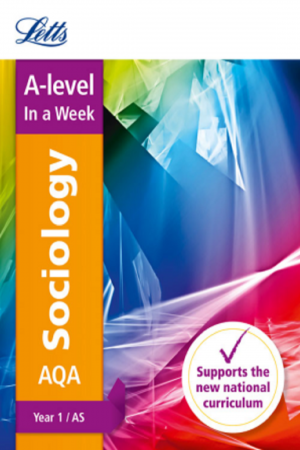 A Level In A Week Sociology Aqa Year 1 /As (PB) BooksInn Shop Pakistan