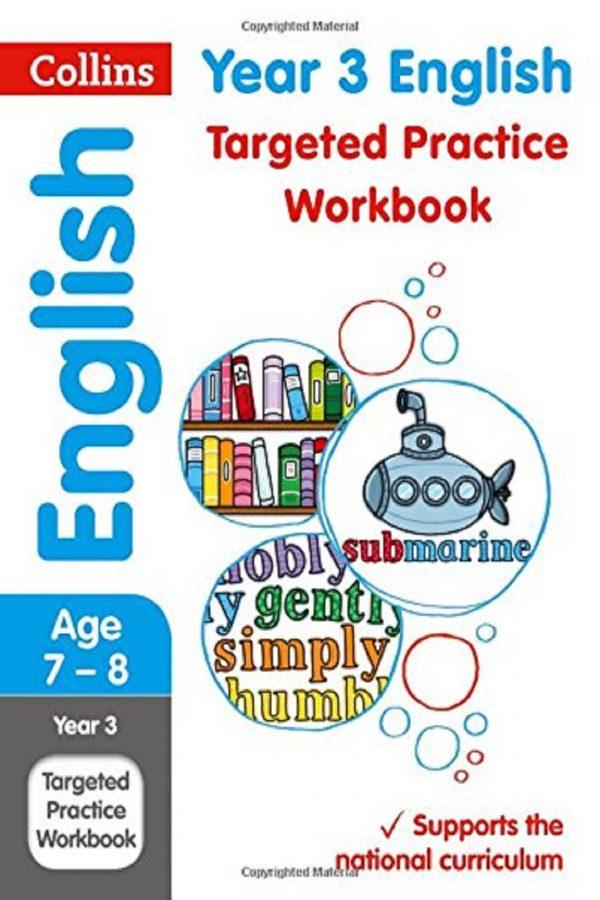 Collins Year 3 English Targeted Practice Workbook (PB) BooksInn Shop Pakistan