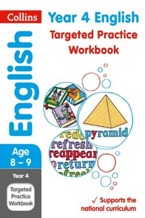 Collins Year 4 English Targeted Practice Workbook (PB) BooksInn Shop Pakistan