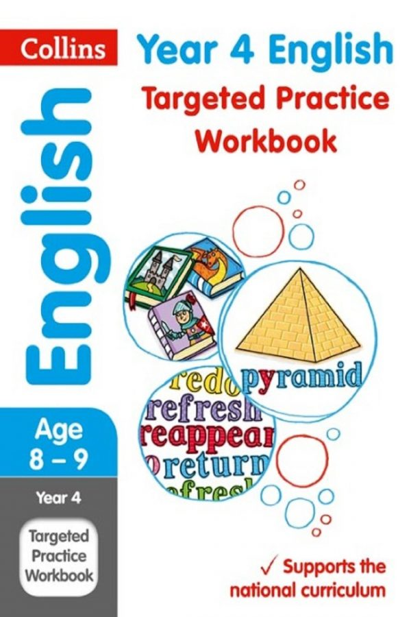Collins Year 4 English Targeted Practice Workbook (PB) BooksInn Shop Pakistan