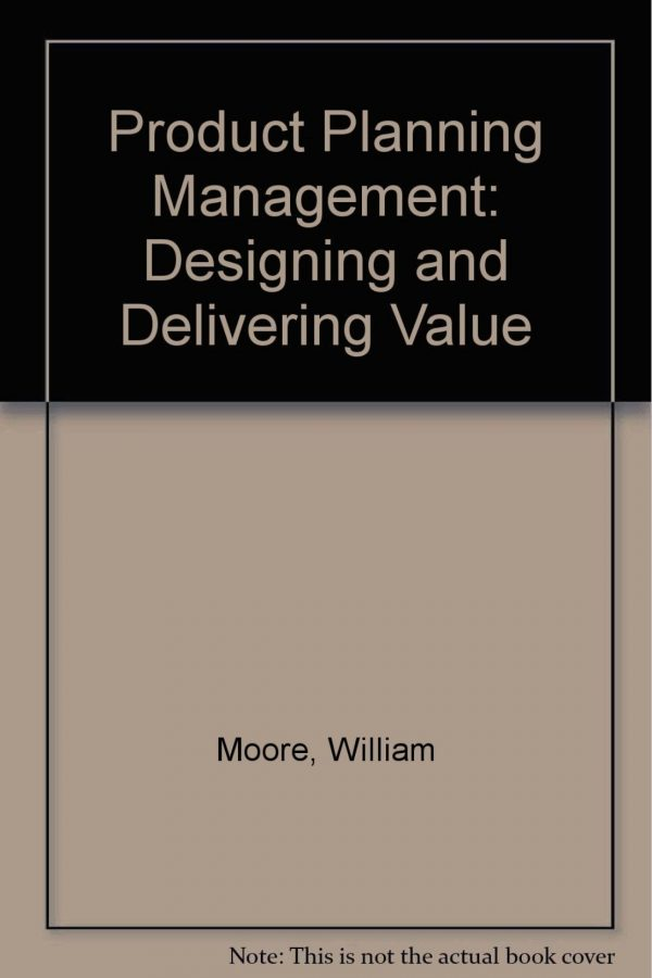 Product Planning And Management:Designing And Delivering Value (PB) BooksInn Shop Pakistan