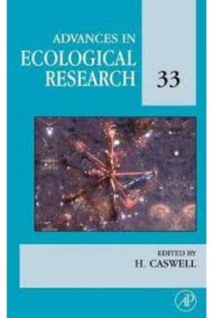 Advances In Ecological Research Vol 33 (HB) BooksInn Shop Pakistan
