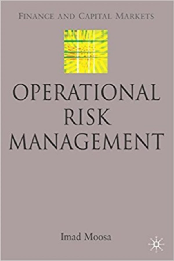 Operational Risk Management (HB) BooksInn Shop Pakistan