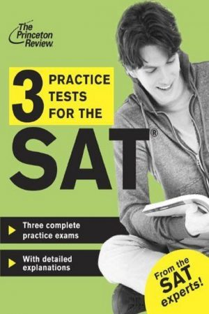3 Practice Tests For The Sat (PB) BooksInn Shop Pakistan