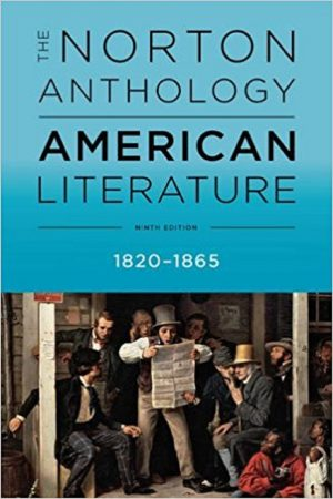 The Norton Anthology American Literature 1820-1865 9/E (PB) BooksInn Shop Pakistan
