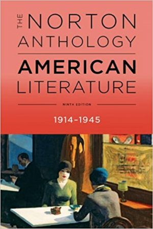 The Norton Anthology American Literature 1914-1945 9/E (PB) BooksInn Shop Pakistan