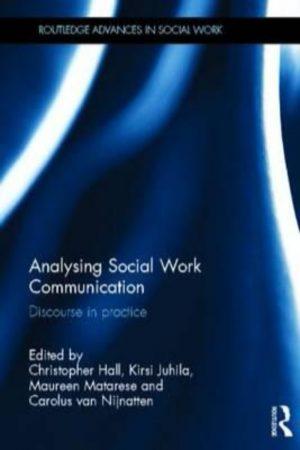 Analysing Social Work Communication Discourse In Practice (HB) BooksInn Shop Pakistan