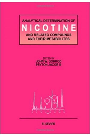 Analytical Determination Of Nicotine & Related Compounds & Their Metabolites (Hb BooksInn Shop Pakistan