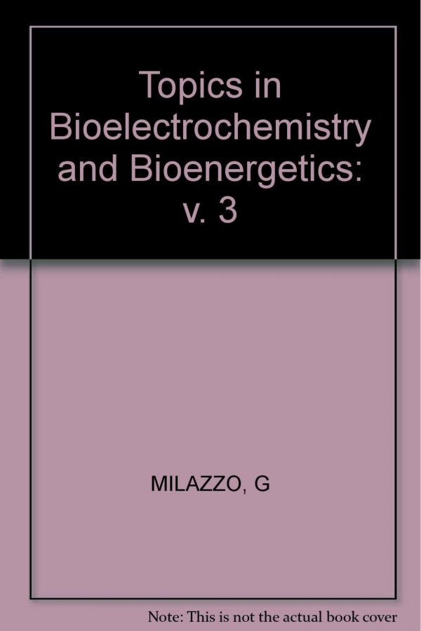 Topics In Bioelectrochemistry & Bioenergetics Vol 3 (HB) BooksInn Shop Pakistan