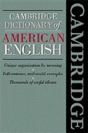 Cambridge Dictionary Of American English (PB) BooksInn Shop Pakistan