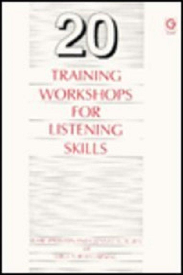 20 Training Workshops For Listening Skills (PB) BooksInn Shop Pakistan