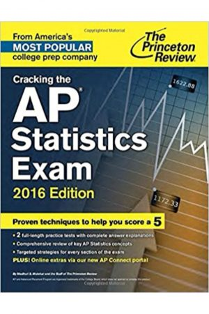 Cracking The Ap Statistics Exam 2016 Ed (PB) BooksInn Shop Pakistan
