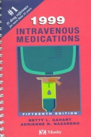 1999 Intravenous Medications 15/E (PB) BooksInn Shop Pakistan