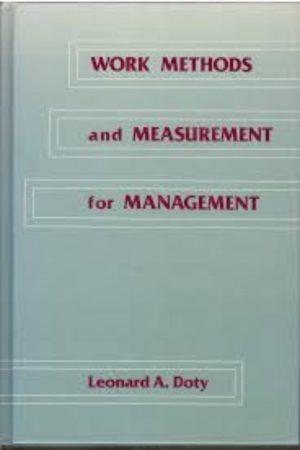 Work Methods And Measurement For Management (HB) BooksInn Shop Pakistan