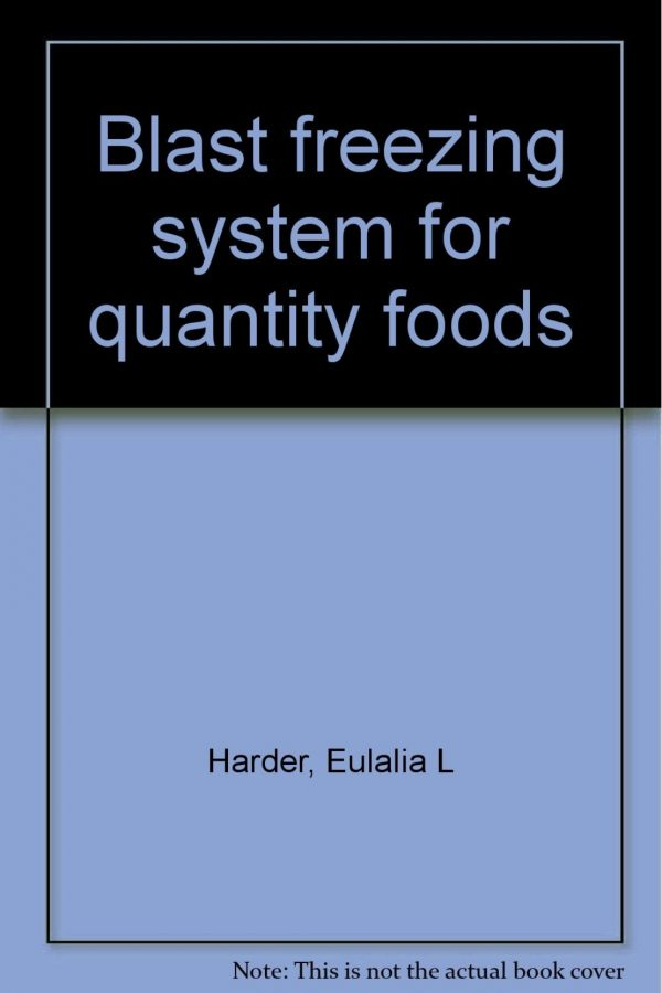 1 Blast Freezing:System For Quantity Foods (HB) BooksInn Shop Pakistan