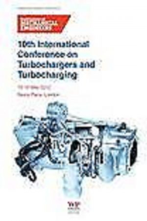 10 International Conference On Turbochargers And Turbocharging (HB) BooksInn Shop Pakistan