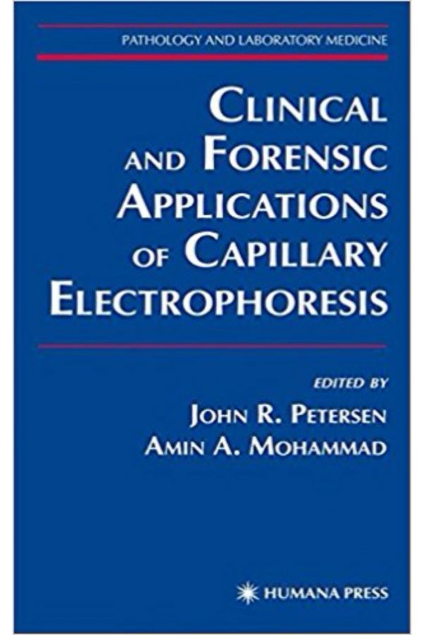 Clinical And Forensic Applications Of Capillary Electrophoresis (HB) BooksInn Shop Pakistan