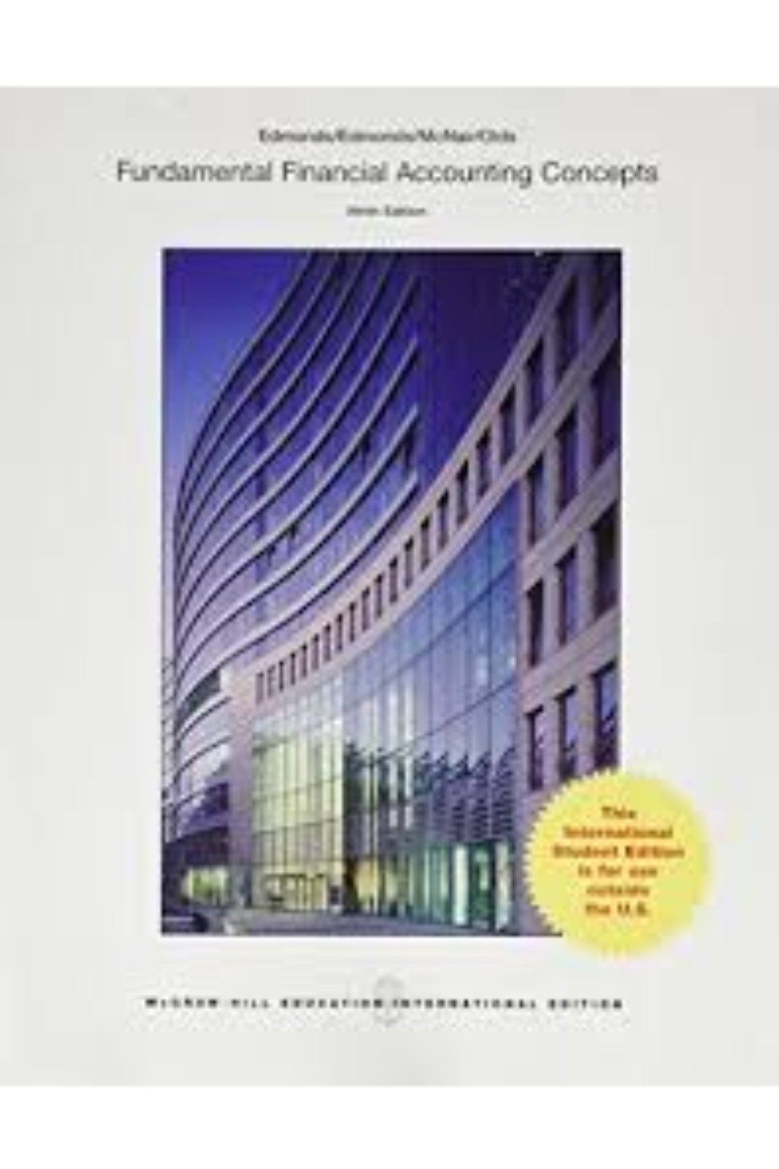 382dfb4d4bfcd Fundamental Financial Accounting Concepts 9 E (PB) BooksInn Shop Pakistan