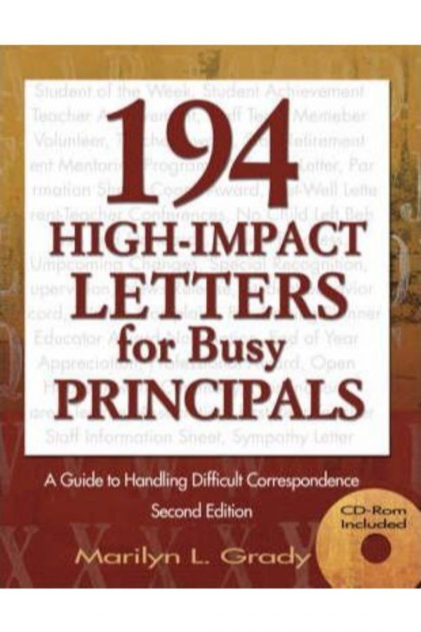 194 High Impact Leters For Busy Principles 2/E (HB) BooksInn Shop Pakistan