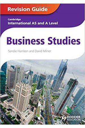 Cambridge International As And A Level Business Studies (PB) BooksInn Shop Pakistan
