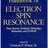 Handbook Of Electron Spin Resonance: Data Sources