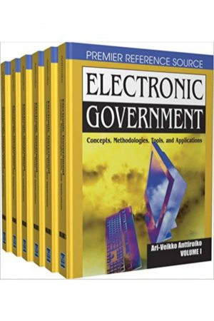 Electronic Government Concepts Methodologies Tools And Applications 6 Vol Set (HB) BooksInn Shop Pakistan
