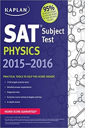 Sat Subject Test Physics 2015-2016 (PB) BooksInn Shop Pakistan
