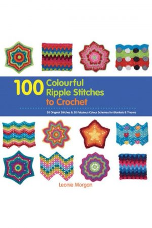 100 Colourful Ripple Stitches To Crochet (PB) BooksInn Shop Pakistan