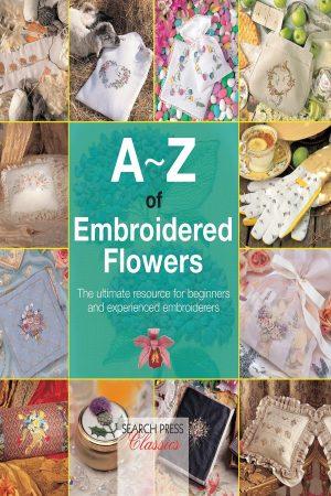 A-Z Of Embroidered Flowers (PB) BooksInn Shop Pakistan