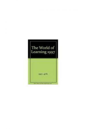 The World Of Learning 1997 47/E (HB) BooksInn Shop Pakistan