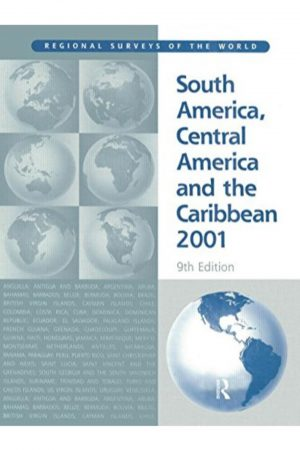 South America Central America And The Caribbean 2001 9/E (HB) BooksInn Shop Pakistan