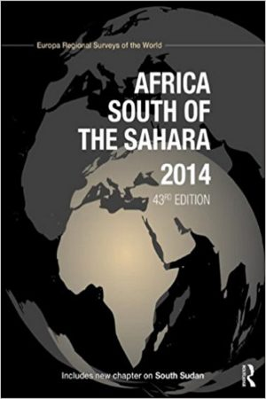 Africa South Of The Sahara 2014 43/E (HB) BooksInn Shop Pakistan