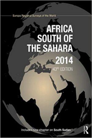 Africa South Of The Sahara 2014 43/E (HB) BooksInn Shop Pakistan