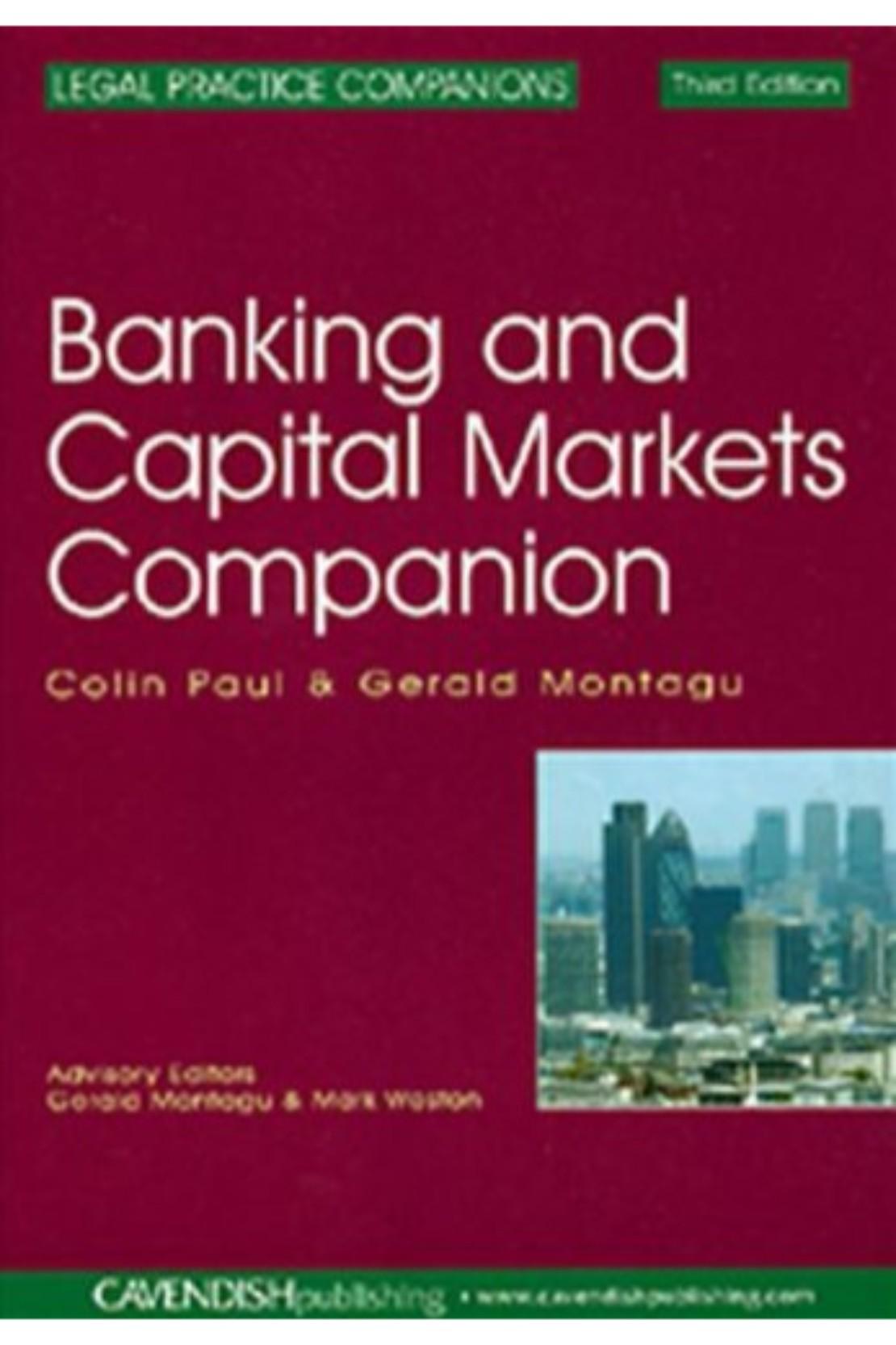4877ef7f63bef Banking Capital Markets Companion 3 E (PB) BooksInn Shop Pakistan
