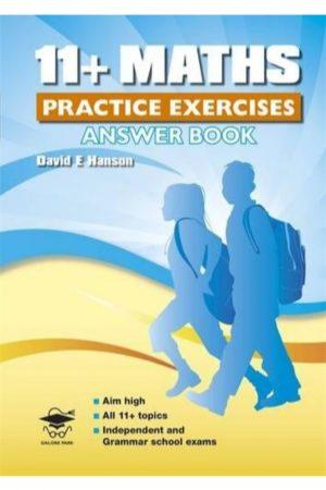 11 + Maths Practice Exercises Answer Book (PB) BooksInn Shop Pakistan