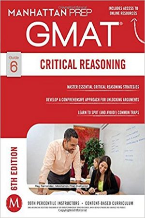 Gmat Critical Reasoning Guide 6: 6/E (PB) BooksInn Shop Pakistan