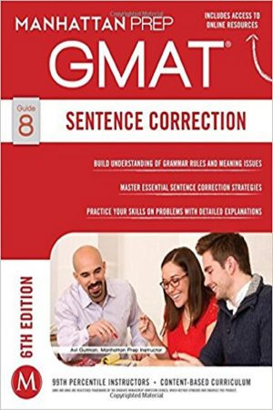 Gmat Sentence Correction Guide 8 6/E(PB) BooksInn Shop Pakistan