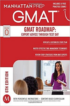 Gmat Gmat Roadmap: Expert Advice Through Test Day Guide 0 6/E (PB) BooksInn Shop Pakistan