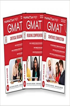 Gmat Critical Reasoning Guide 6 3 Vol Set 6/E (PB) BooksInn Shop Pakistan