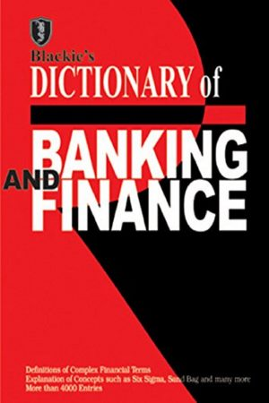 Blackie'S Dictionary Of Banking And Finance (PB) BooksInn Shop Pakistan