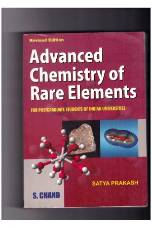 Advanced Chemistry Of Rare Elements (PB) BooksInn Shop Pakistan