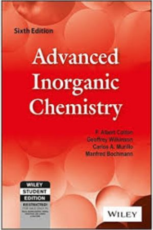 Advanced Inorganic Chemistry 6/E (PB) BooksInn Shop Pakistan