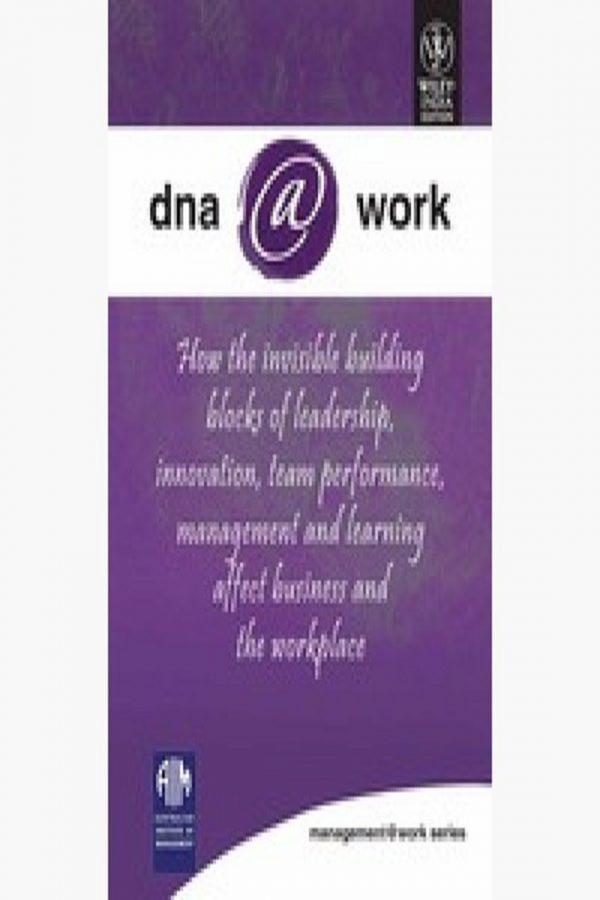 Dna @ Work Australian Institure Of Management (PB) BooksInn Shop Pakistan