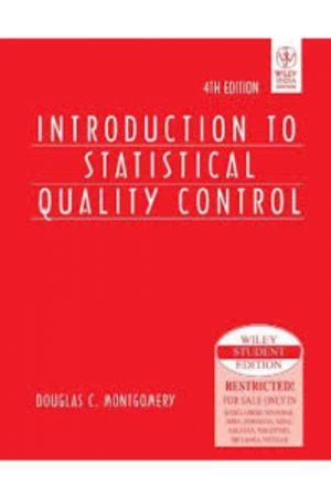 Introduction To Statistical Quality Control 4/E (PB) BooksInn Shop Pakistan