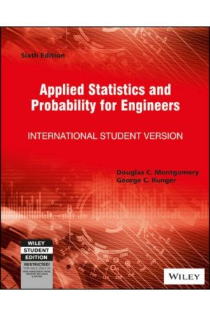 Applied Statistics And Probability For Engineers 6/E (PB) BooksInn Shop Pakistan