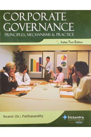 Corporate Governance Principles Mechanisms & Practice (PB) BooksInn Shop Pakistan