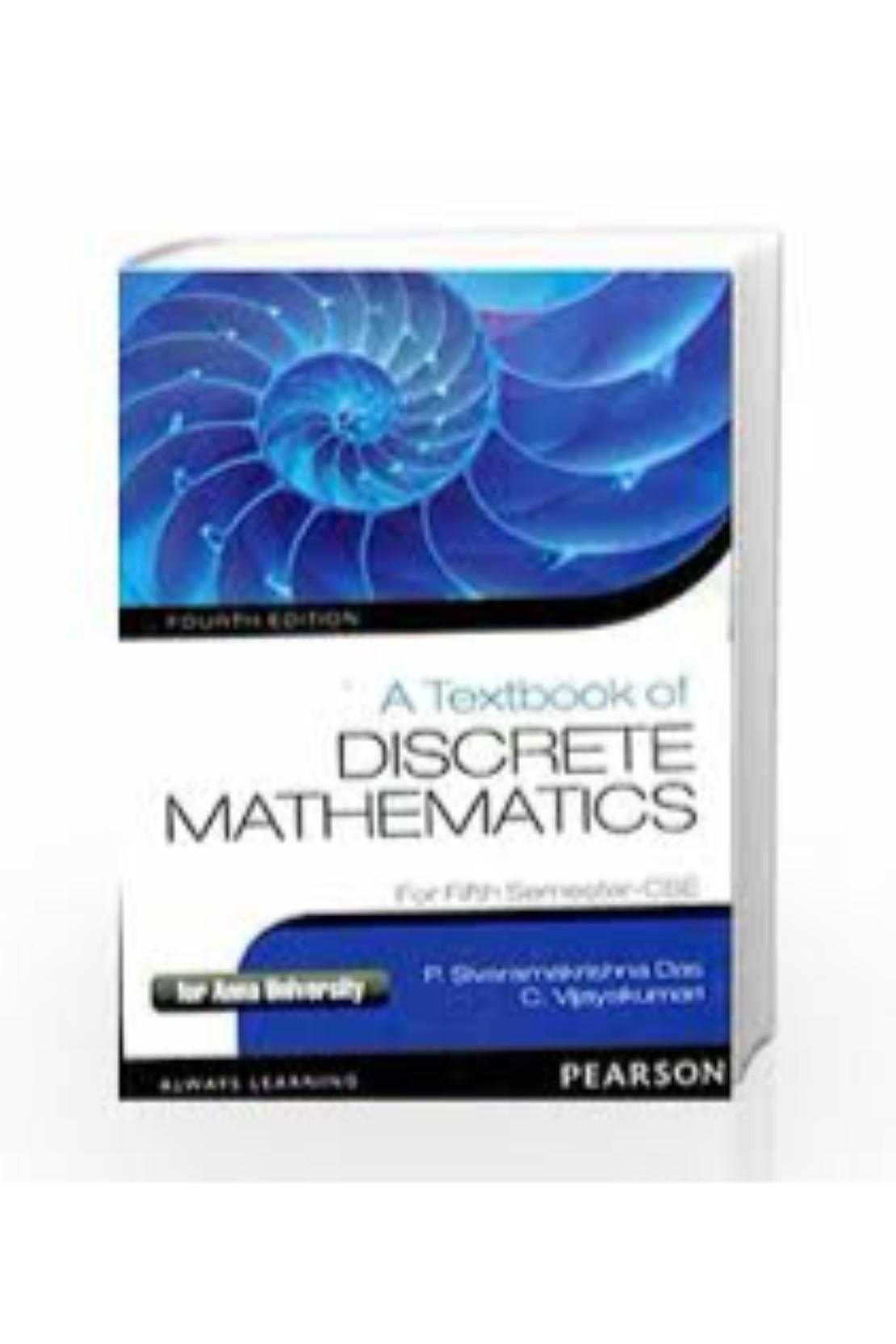 Discrete Mathematics Book By Balaji