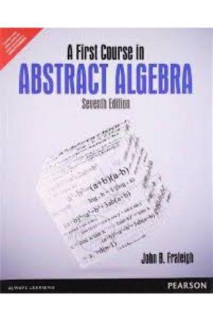 A First Course In Abstract Algebra 7/E (PB) BooksInn Shop Pakistan